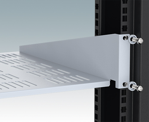 Rack mounting flanges