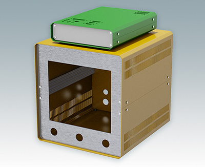 Custom colour enclosures