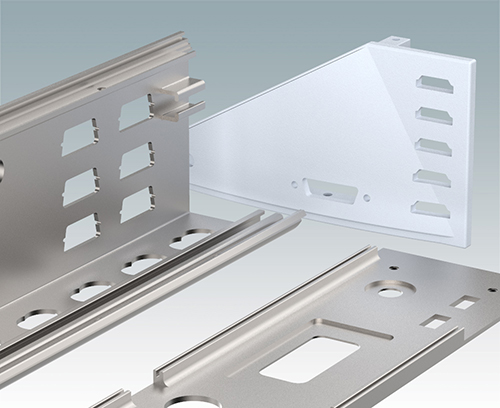 Enclosure extrusion profiles machined to your requirements
