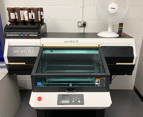 Metcase's new digital printer