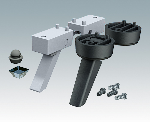 Universal feet for all enclosures