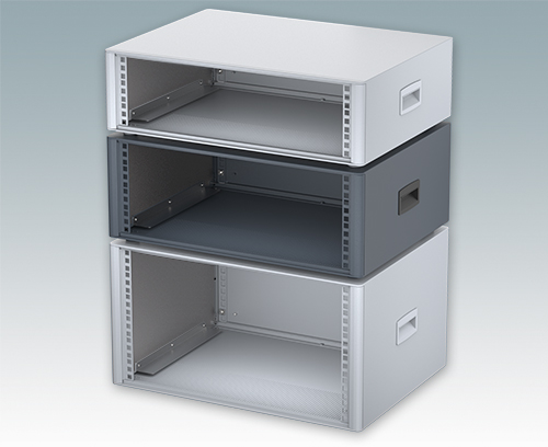 "19"" rack enclosure 3U, 4U and 6U"